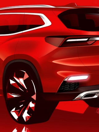 CHINESE EXPORT BOOST: Closer detail of the model that will spearhead Chery's sales offensive. Image: Chery / Newspress