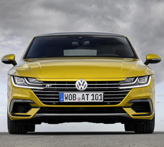 2017 VW ARTEON: New flagship four-door hatch headed for SA. Image: VW Germany