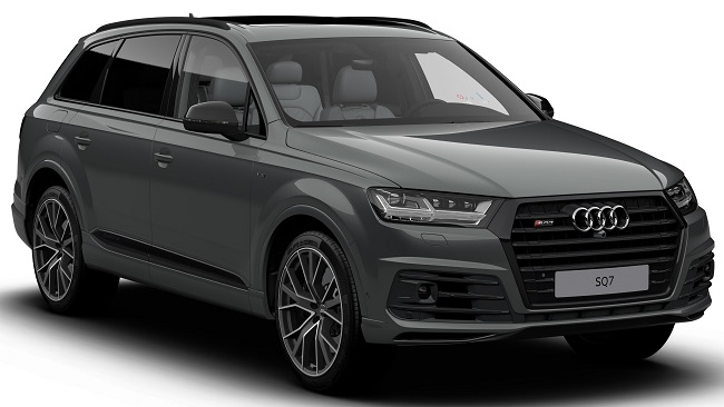 """VISIBLY VORSPRUNG: Audi's Q7 is now available to order as a Black Edition in Vorsprung specification as, its maker says, """"the most luxuriously appointed Q7 yet"""". Image: Audi . Newspress"""