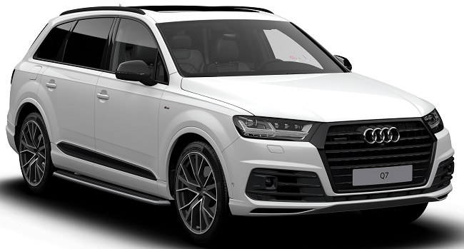 NEW FOR 2018: Audi's Q7 has been updated with Black Edition models for 2018. Image: Audi / Newspress