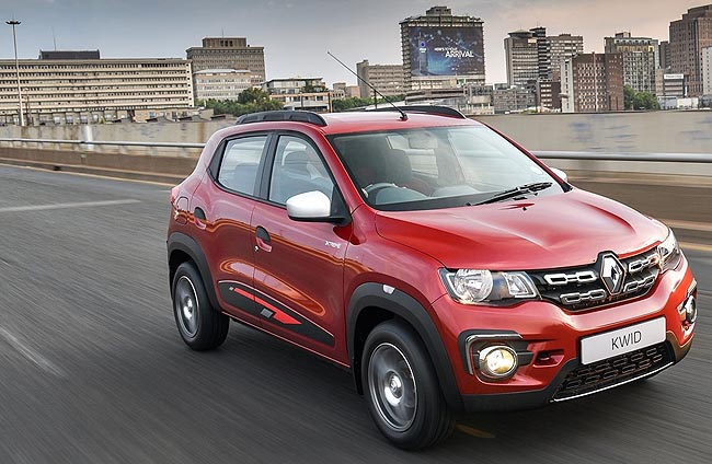 RENAULT KWID: Top of the pops when it comes to holding resale value. Image: Supplied
