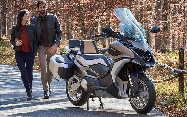 CONCEPT FROM KYMCO: Image: Kymco / Newspress