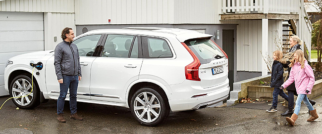 GOING AUTONOMOUS: Image: Volvo Cars / Newspress