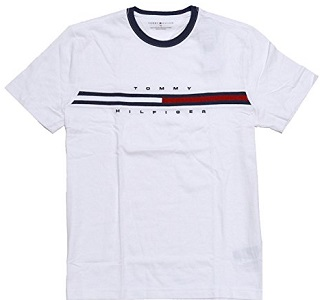 CLASSY COTTON? This Tommy Hilfiger Mens Classic Fit Big Logo T-Shirt (Classic White, Medium) [B014JZW1T4] Delivery: 10-20 Working Days Price R1068.00