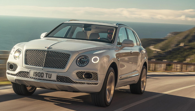 BENTLY BENTAYGA: Image: Bentley Motors
