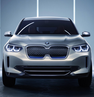 NEW BMW iX3: All-wheel drive electric mobility. Image: BMW