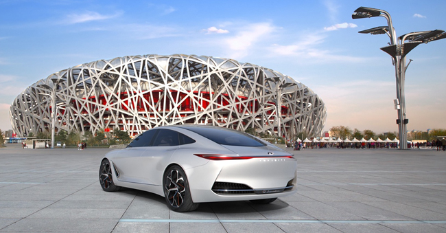 Production and a sales drive for the luxury brand in the very far east. Image: Infiniti / Newspress