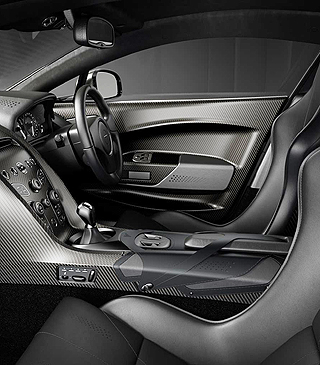 2018 V8 ASTON MARTIN VANTAGE V600: Image: Aston Martin / Newspress