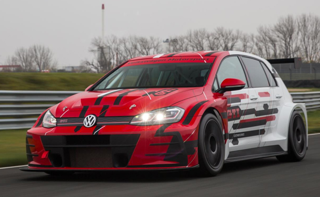VW GTI TCR: All set to rev at the 2018 Wortherdee GTi anual garthering in Belgium.