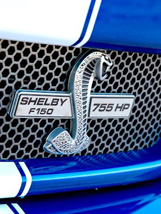 2019 SHELBY F-150: All ready for SouthAfrican roads and trails in right-hand drive from Malmesbury. Image: Shelby SA.