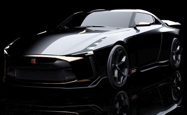 2018 NISSAN GT-50 ITALDESIGN. Image Nissan