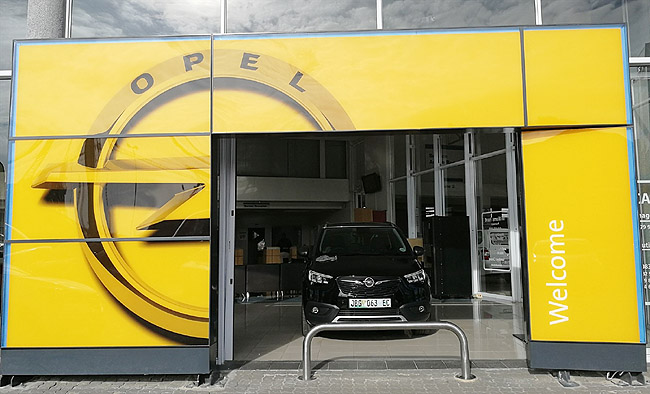 OPEL COMEBACK FOR SA: This is how your local Opel dealer might look in future. Image: Opel SA / Quickpic