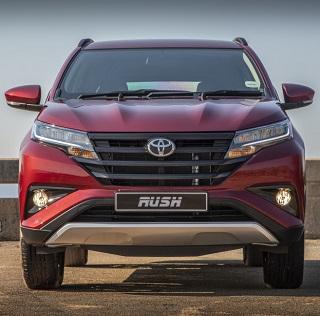 2018 TOYOTA RUSH: Image: Toyota SA