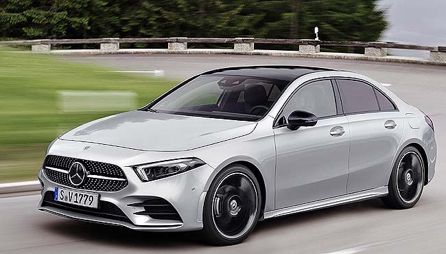 MERCEDES-BENZ AMG A35: Turbo hatch, luxury equipment, and the latest in suspension features. Image: Mercedes AMG
