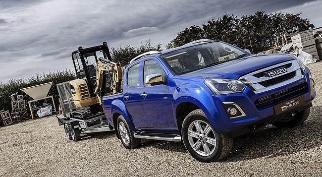 2018 ISUZU D-MAX: The popular leisure / work bakkie range has been updated in the UK. Image: Isuzu UK / Newspress