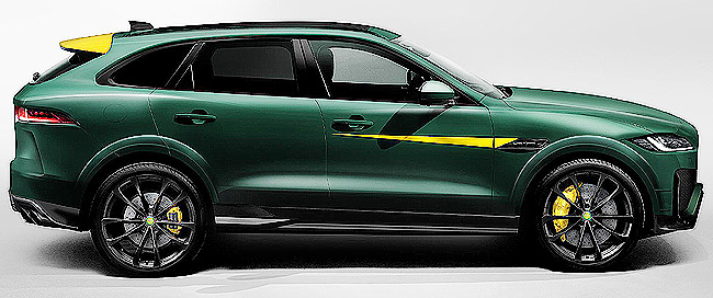 COMING SOON IN THE UK: The Lister LFP SUV, with a top speed of 320km/h, promises to be the world's fastest SUV. Image: Lister Motors / Newspress