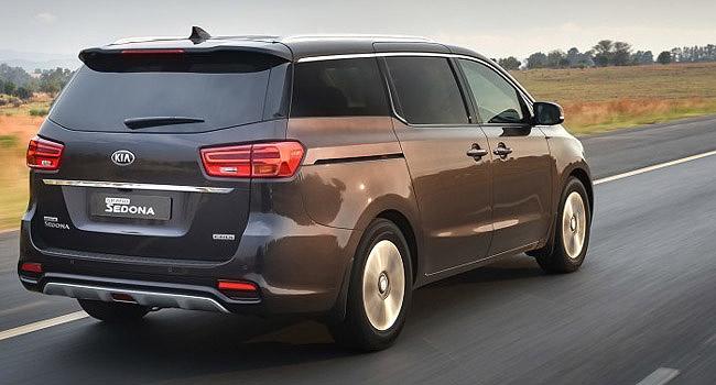2018 KIA SEDONA: Midlife makeover for Korea's award-winning wagon. Image: Kia Motors