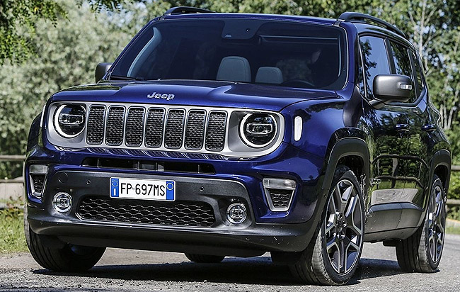 jEEP RENEGADE FOR 2019: Iconic Yank off-roader going plug-in hybrid electric. Image: Jeep