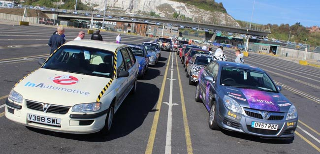 BANGERS FOR BEN RUN: Image: Newspress UK