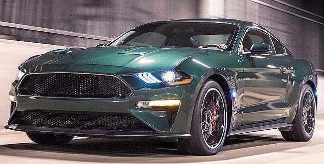 JUST DOWN THE ROAD: Ford's special-edition Mustang Bullitt is ready for order in South Africa. Image: Ford / Quickpic