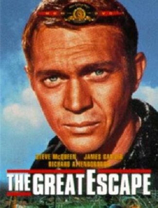 MOVIE FLASHBACK: Listen to music from 'The Great Escape' while you read.
