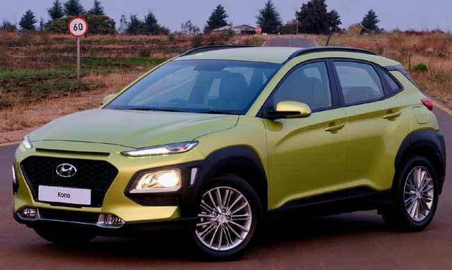 2018 KIA KONA: Two versions just launched in South Africa among best value for crossovers. Images: Kia Motors / Carman's Corner