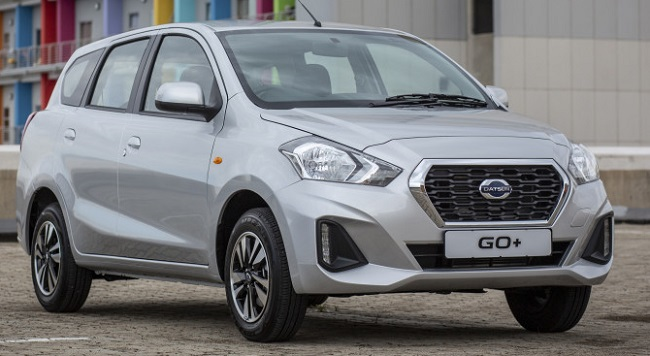 2018 DATSUN GO+: Budget wheels, perhaps, but pretty well-equipped.Image: Datsun SA
