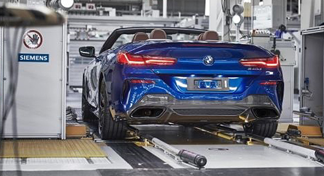 2019 BMW 8 SERIES CONVERTIBLE. It will be released in Europe in early 2019. Image: BMW Germany