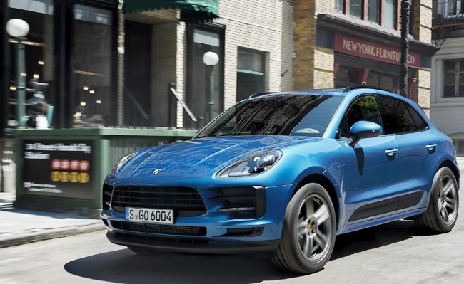 2019 PORSCHE MACAN: Expected in US showrooms early in 2019. Image: Porsche America / NewspressUSA