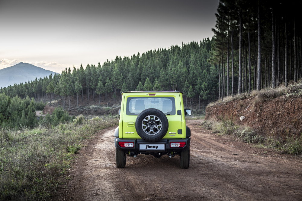 2019 SUZUKI JIMNY: 20 years on from the original and still one of the best off-roaders. Image: Suzuki SA / Motorpress
