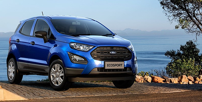 2018 FOR ECOSPORT AMBIENTE: End-of-year touch-up. Image: Ford SA