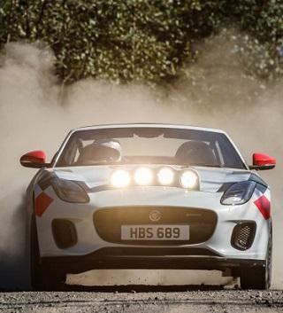 JAGUAR F-TYPE GOES RALLYING: Image: Jaguar