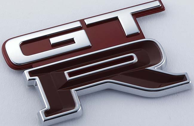 FAMOUS BADGE. It's kown globally as a sign of power and glorious driving. Image: Nissan