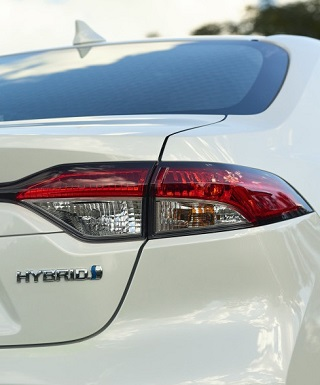 COMING UP DOWN UNDER: The next Toyota Corolla range will include a hybrid version.. image: Toyota Australia / Motorpress