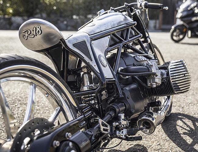 FIRST SHOWING: BMW andZon motorcycles in Japan unite to create one beautiful custom bike. Image: Motorpress USA