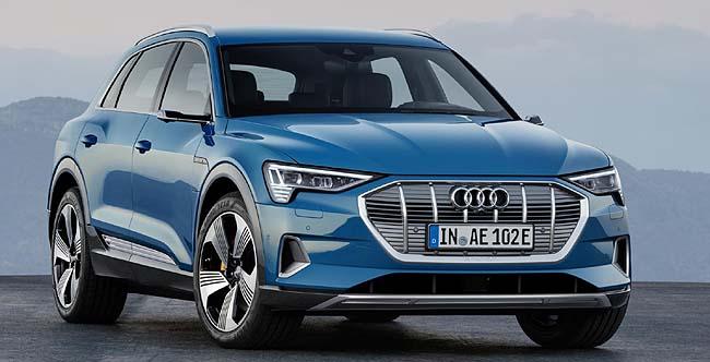2019 AUDI E-TRON. iImage: Audi UK / Newspress