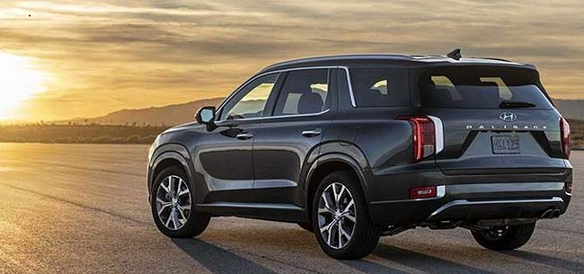 HYUNDAI PALISADE: Biggest bruiser of the Korean fleet and due for release in the US in 2020.