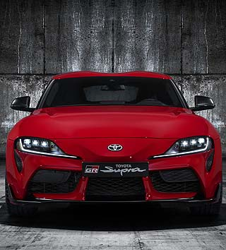 TOYOTA SUPRA: A classic in the Toyota stable is about to be resuscitated. Image: Toyota