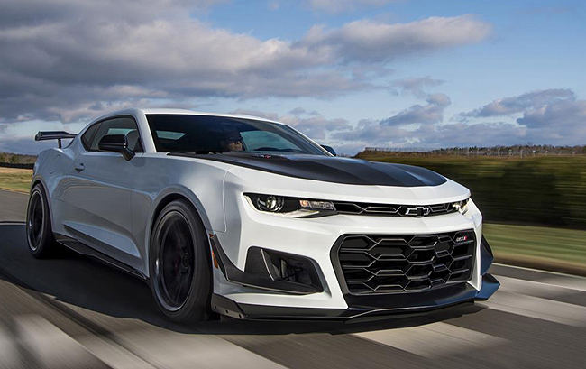 2019 CHEVY CAMARO: More gears, auto box and real engine clout. Image: Chevrolet US