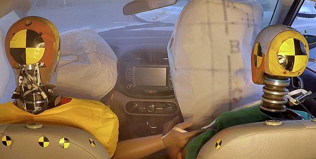 SEARCH FOR SECOND PROTECTION: Kia seeking answer to second crash-bag demand. Image: Kia Motors
