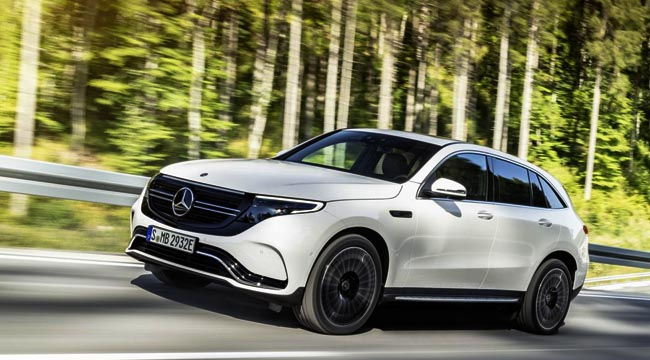 MERCEDES-BENZ EDQ: Pure electric on show in Las Vegas but already booked for South Africa. Image: Mercedes-Benz