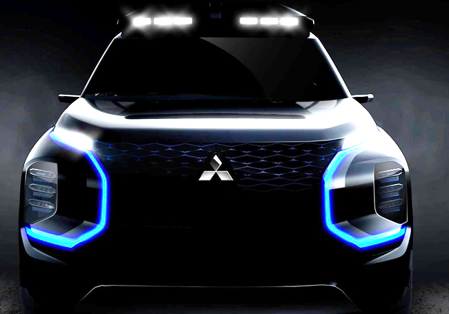 MITSUBISHI TEASER SUV: It will be on the automaker's stand at the 2019 Geneva auto show in March. Image: Mitsubishi