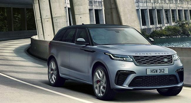 2019 RANGE ROVER VELAR: Image: Land Rover