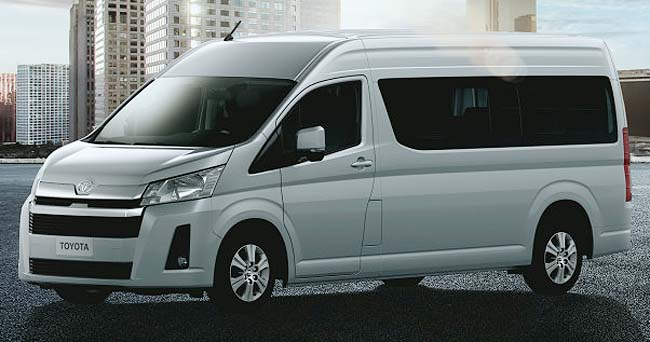 2019 TOYOTA QUANTUM: New vans and buses ready for launch in South Africa. Image: Toyota SA