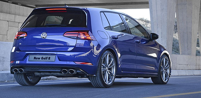 HOTTER GOLF: More tuning under the bonnet and the VW Golf R is even quicker. Image: VW SA