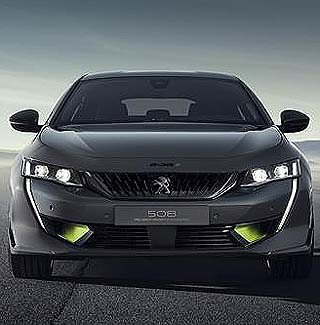 ALL SET FOR 2019 GENEVA AUTO SHOW: Peugeot's high-performance 508 Peugeot Sport Engineered concept. Image: Peugeot