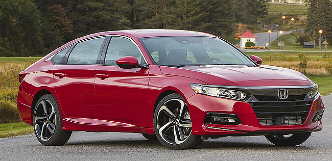 2019 HONDA ACCORD SPORT: Image: Supplied