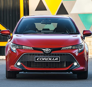 2019 TOYOTA COROLLA HATCH: Happy return to a well-loved brand name in South Africa. Image: Toyota SA