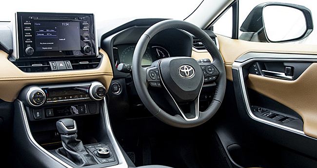 2019 TOYOTA RAV4: Image: Toyota SA