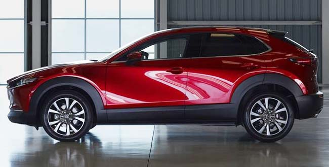 2020 MAZDA CX-30: On show at Geneva 2019, due in South Africa in early 2020. Image: Mazda Motors